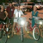 FBC 01 Intrepid riders on the inaugural FBC ride!