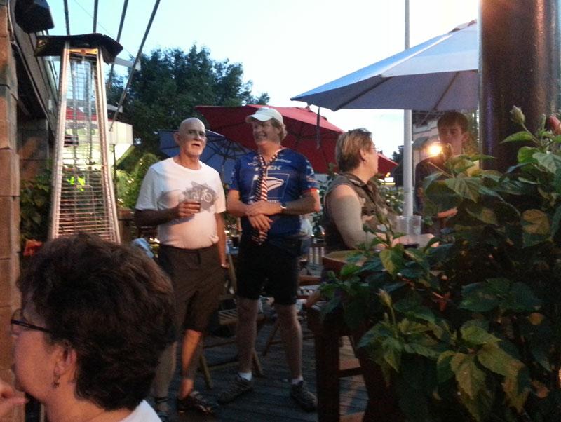 FBC 03 Riders on the deck at Kay Bob's