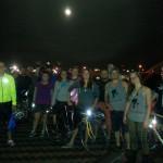 FBC 16 Riders on the Shelby Street Bridge