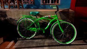Bicycle outside of Kenny's in San Juan del Sur, Nicaragua